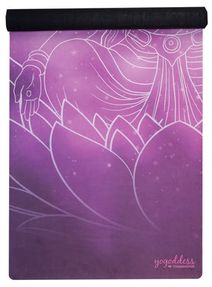 "Space Goddess <br><span class=""free-promo"">Yoga Travel Mat + Free Yoga Bag</span>"