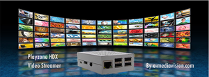 Playzone HD PHDX Video streamer