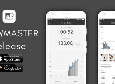 acaia coffee scale brewmaster app