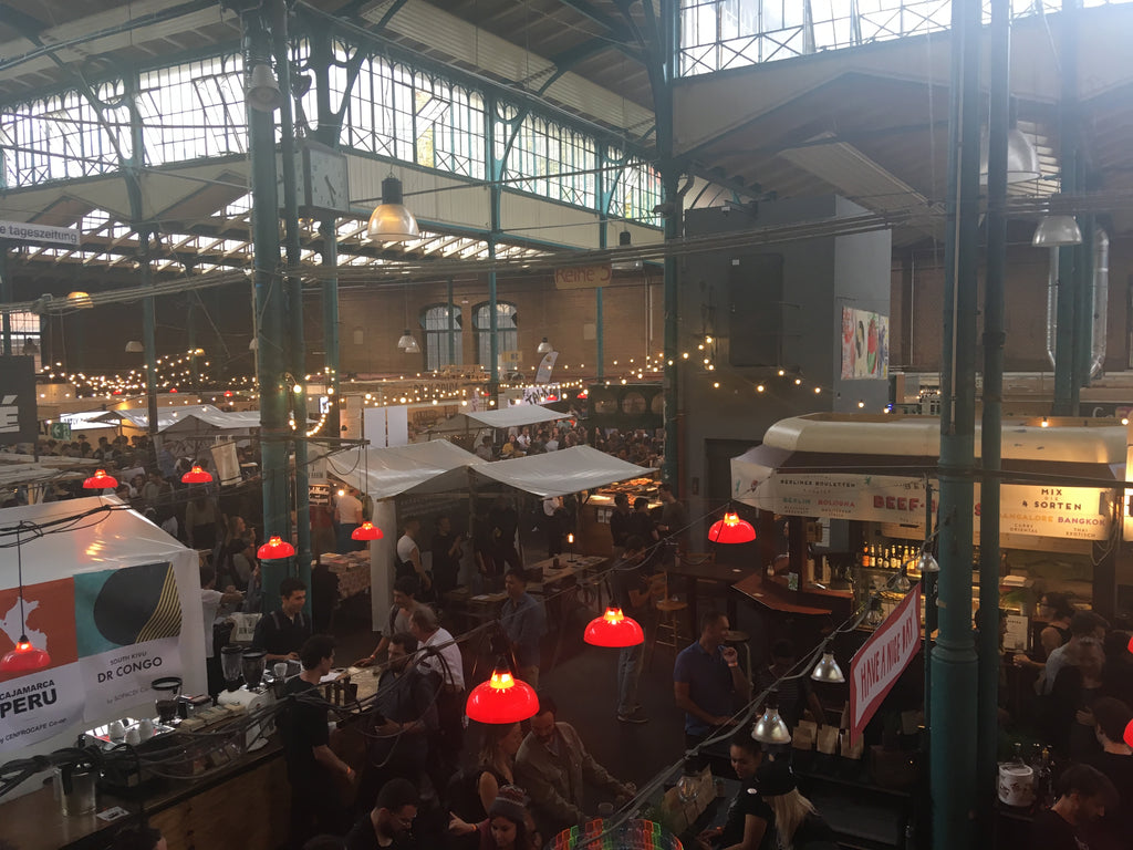 A look over the Berlin Coffee Festival market hall