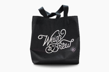 acaia weigh to brew tote bag