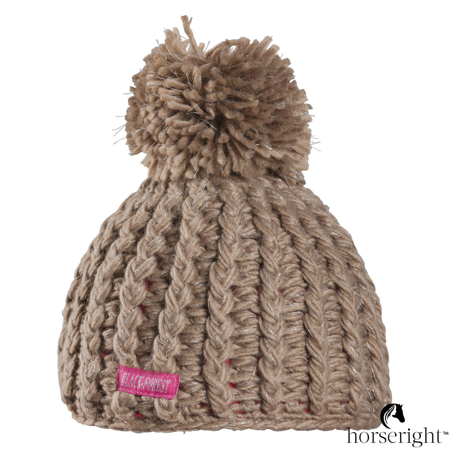 Black Forest Knitted Hat For Children