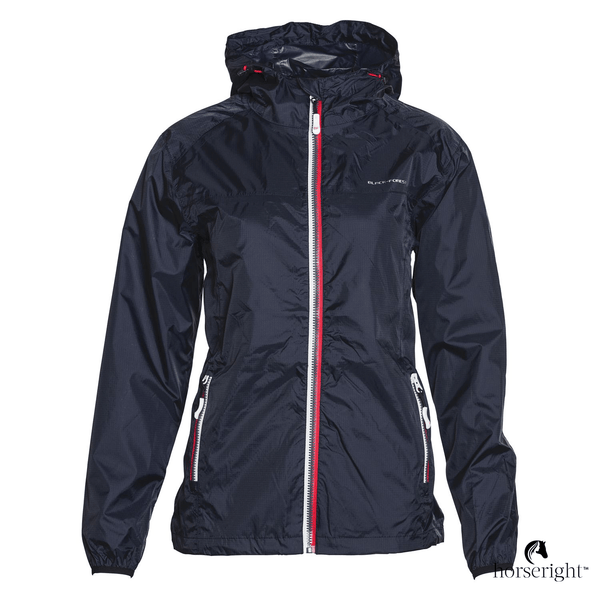 Black Forest Womens Rain Riding Jacket