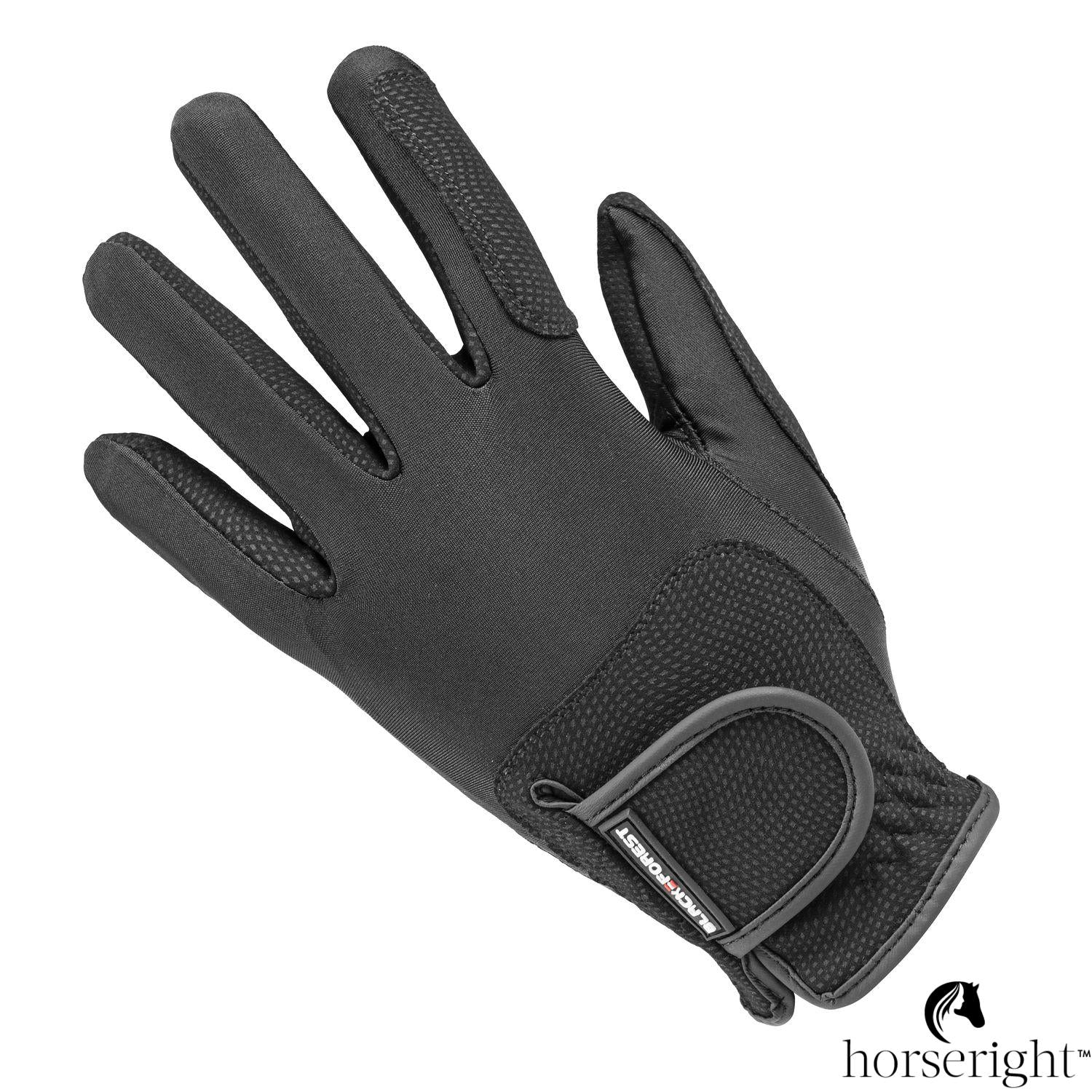 Black Forest Elastico Riding Gloves