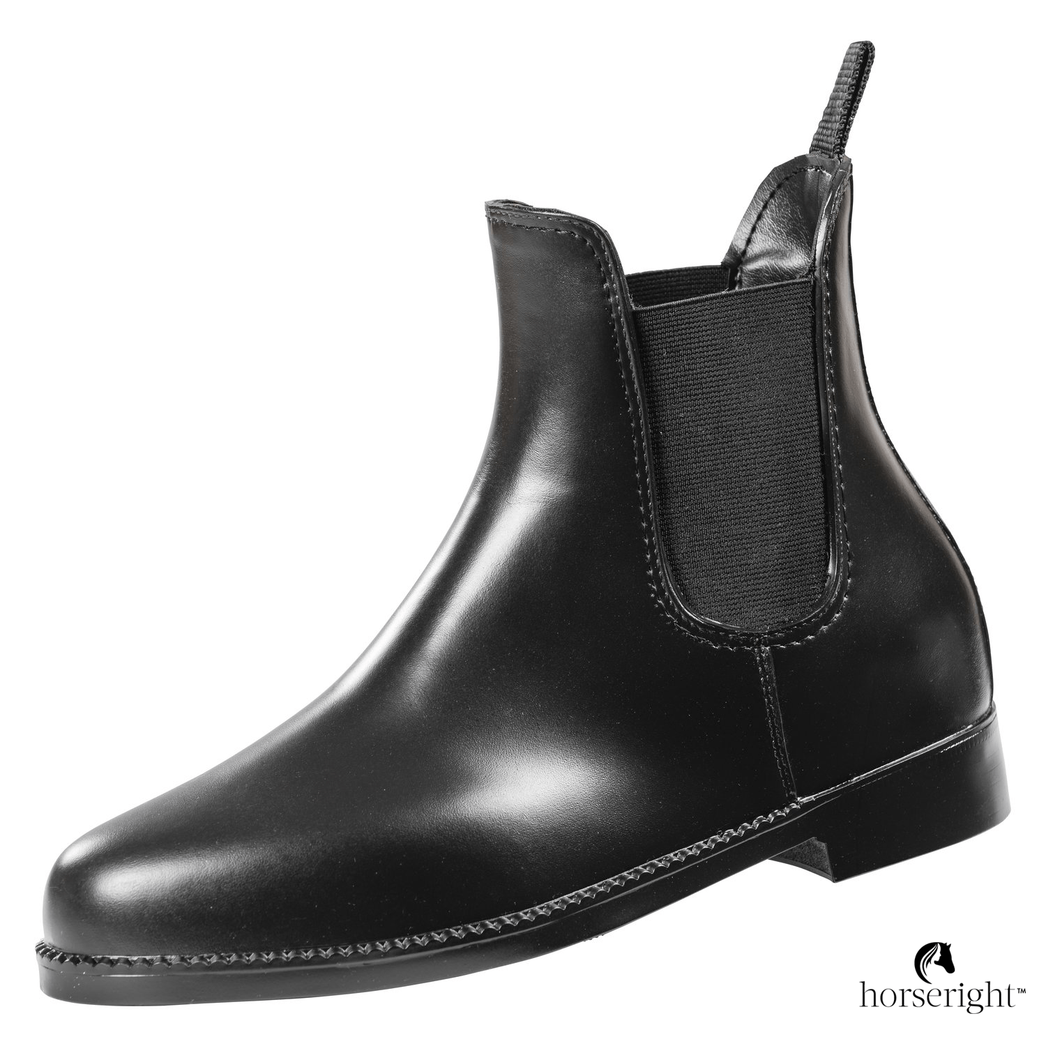 Loesdau Leather Look Riding Boots
