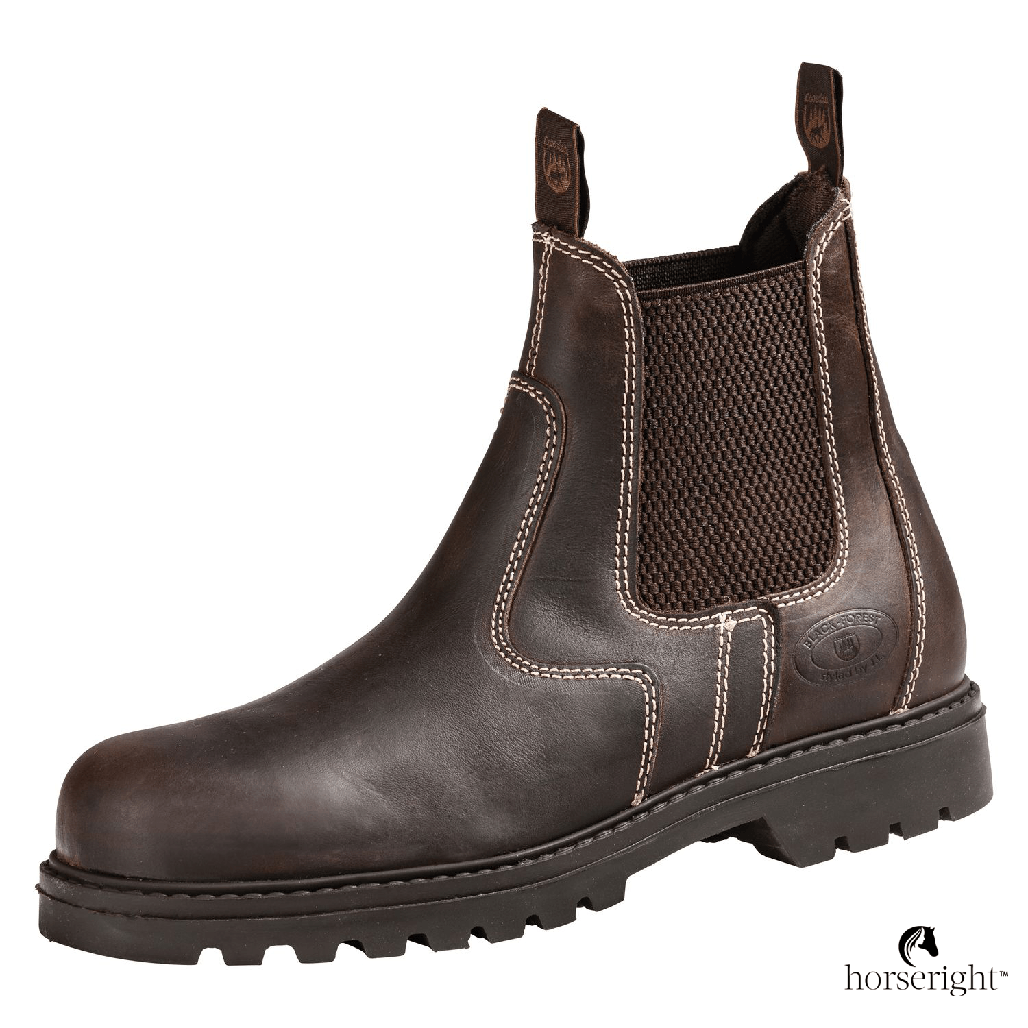 Black Forest Stable And Riding Ankle Boots New Steel