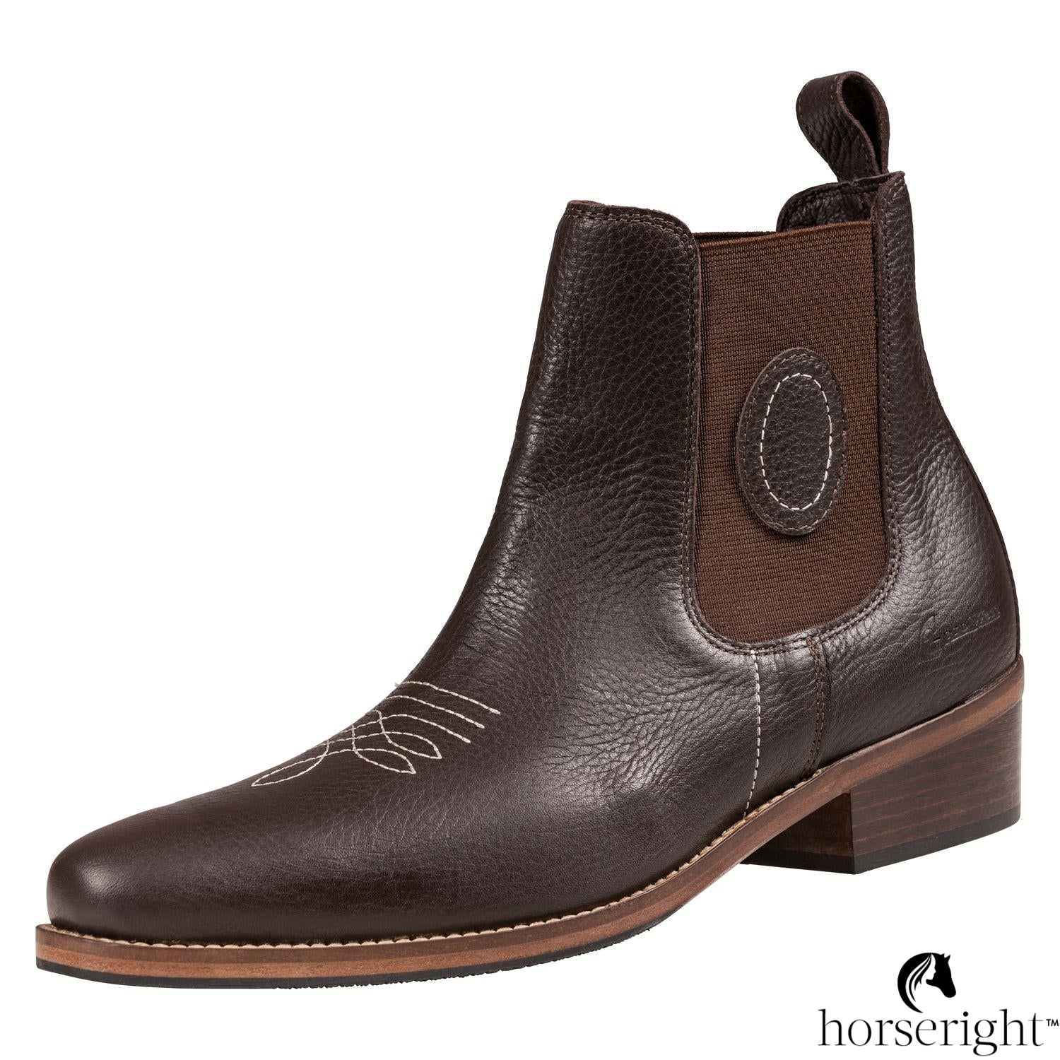 L-Pro Andes West Western Andes Ankle Boots