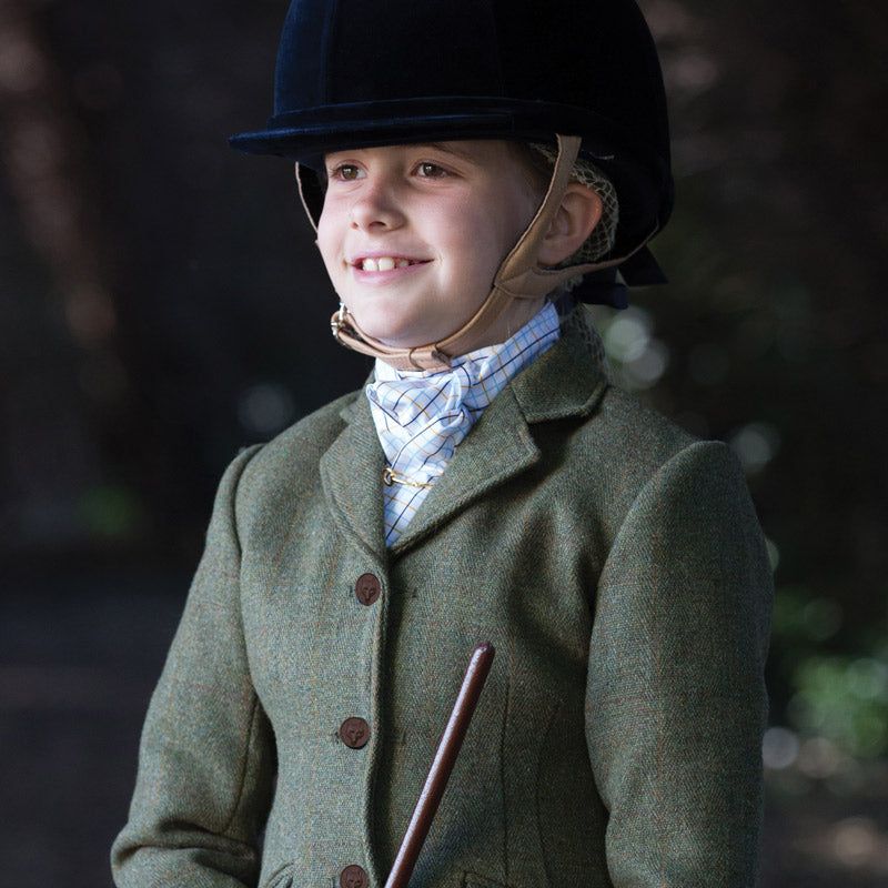 Equetech Childs Claydon Tweed Riding Jacket
