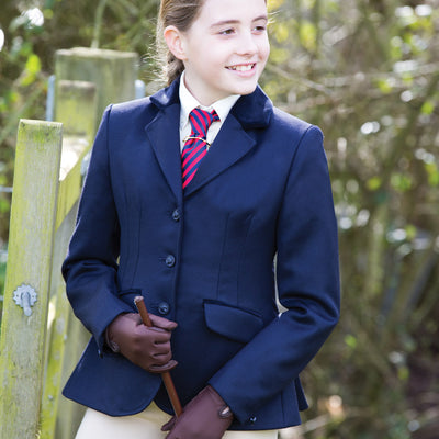 Equetech Junior Kimblewick Wool Riding Jacket