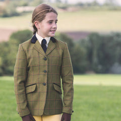 Maids Launton Deluxe Tweed Riding Jacket