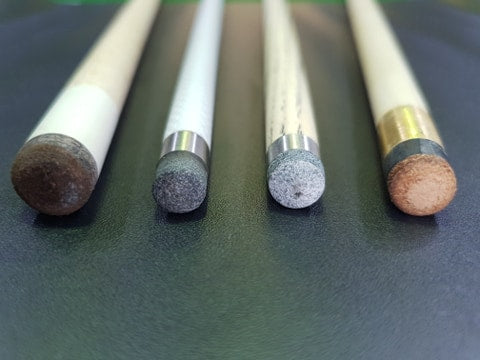 Pool cue tips