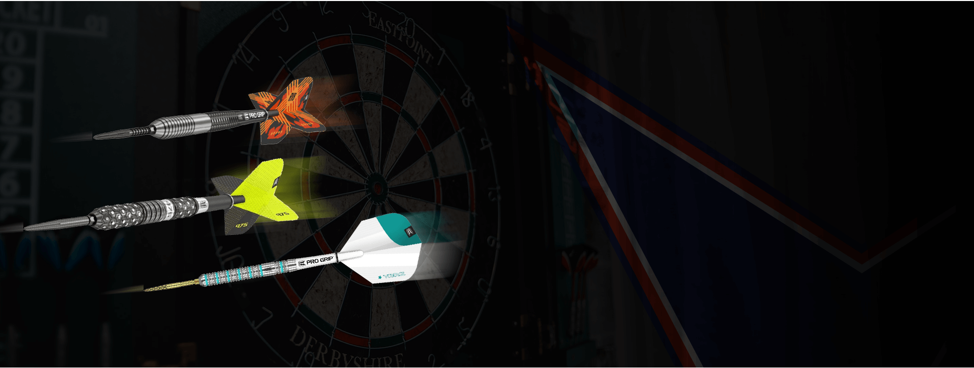 Darts, Dartboards, Dartboard Surround, Dartboard light, Dart mat and dart accessories.