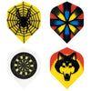 Emblem dart flights