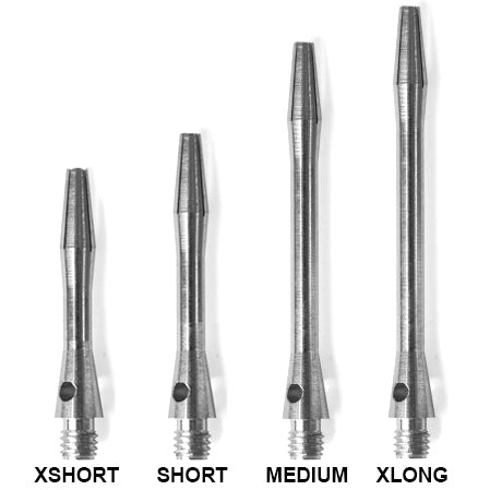 Alloy dart shafts