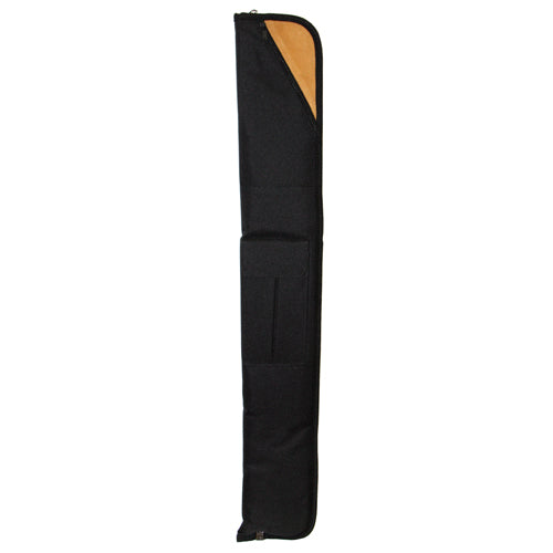Soft Pool Cue Case in Black/Brown