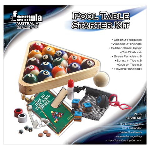 Pool Table Starter Kit