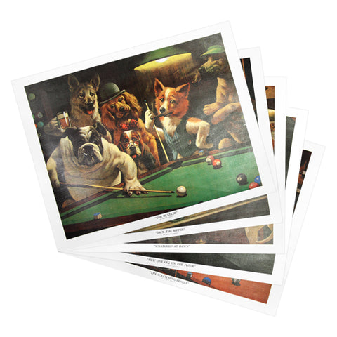 Pool Room Prints