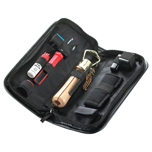 Powerglide pool cue accessory kit in black wallet