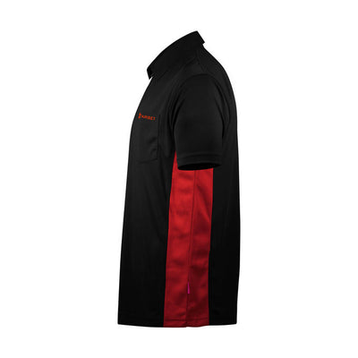 Target Darts CoolPlay Hybrid shirt in black/red