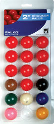 Quality Snooker Balls 2""