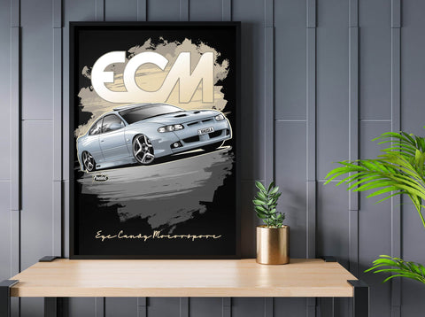 HSV GTO Grey Digital Artwork