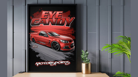 HSV Maloo Red Digital Artwork