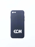 ECM White Logo Phone Cover