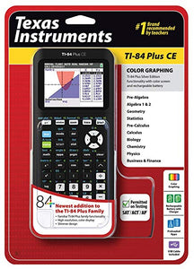 Calculator - TI84PLUSCE (Not stocked by Highfields Back to School Store)