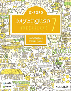 Oxford MyEnglish 7 for Qld Student Book & obook