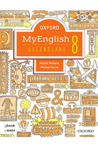 Oxford MyEnglish 8 for Qld Student Book & obook