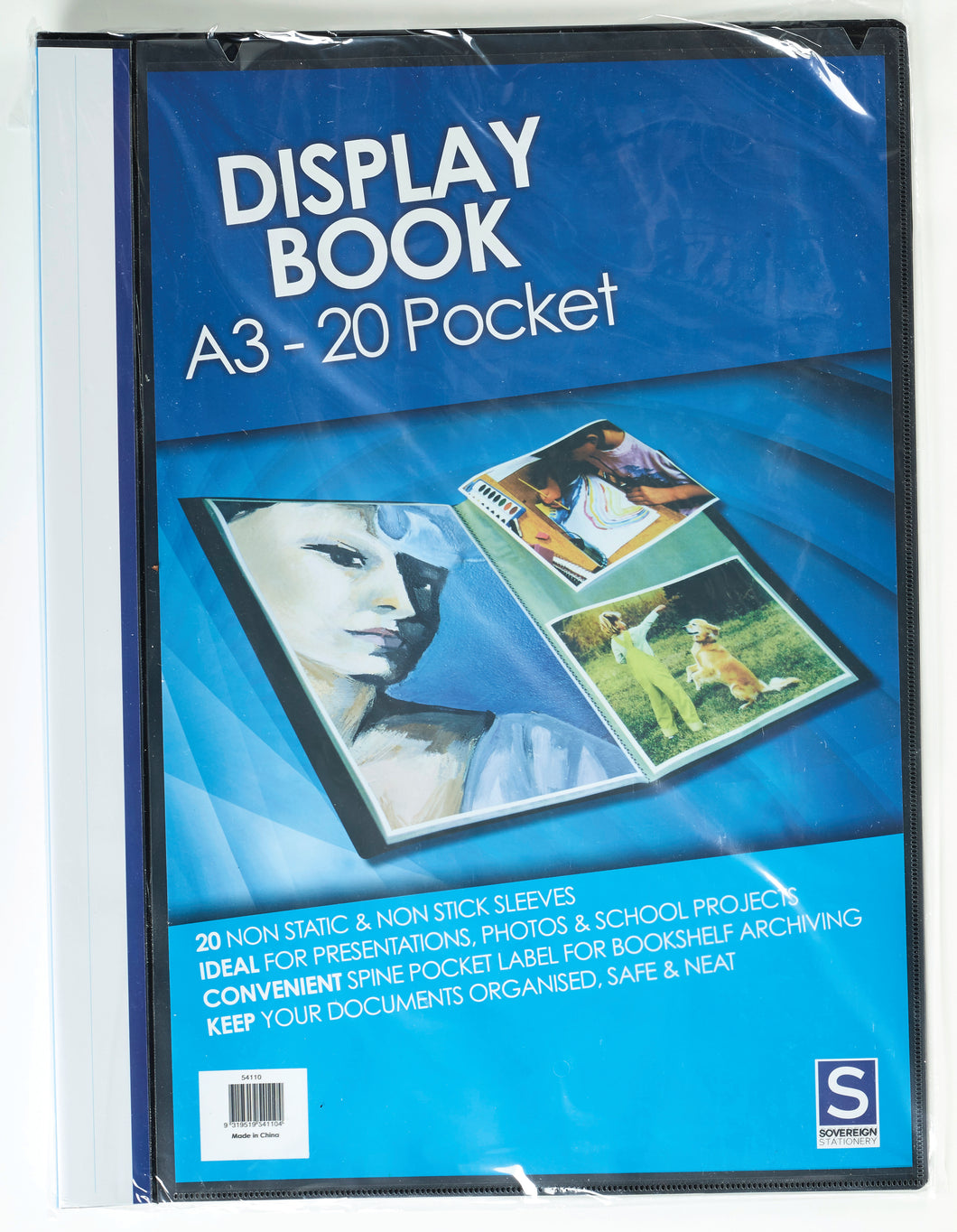 A3 Display Book - Non Refillable