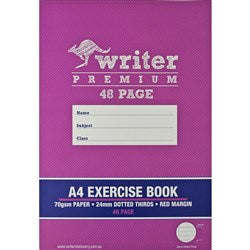 A4 Exercise Book - 48 Page