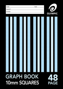 A4 Graph Book - 10mm - 48 Page
