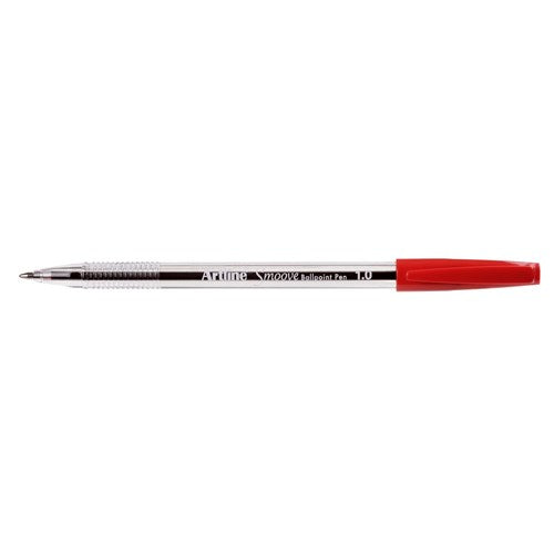 Pen - Ballpoint - Medium Red