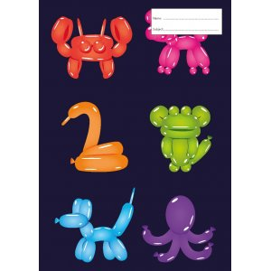 Book Cover - Balloon Animals