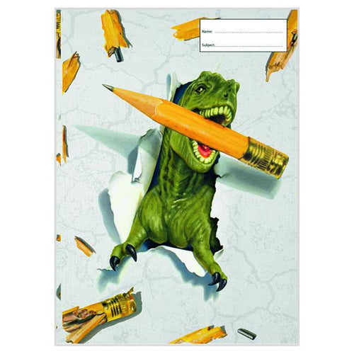 Book Cover - Dino Pencil