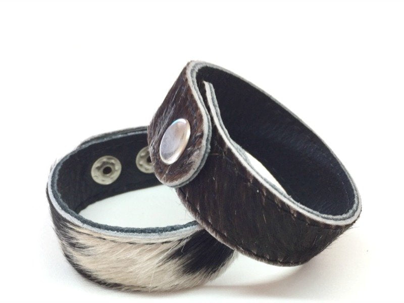 Candice Leather Cuff