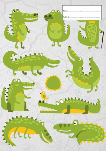 Book Cover - Crocodiles