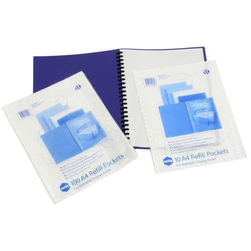A4 Display Book Refills - Pack 10
