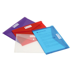 Document Wallet - A4 Doculope - PLASTIC