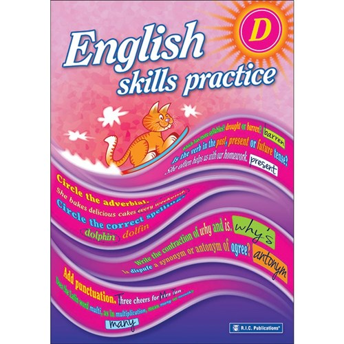 English Skills Practice Book D