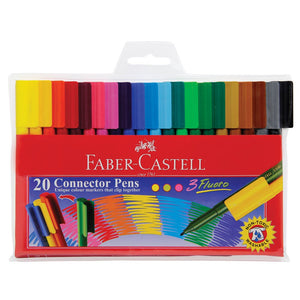 Felt Pens - Faber Connector - Pack 20