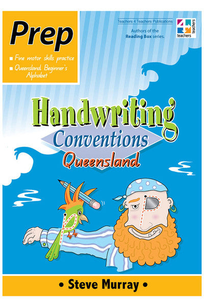 Handwriting Conventions Qld - Prep