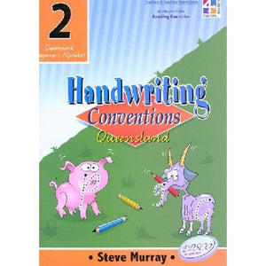 Handwriting Conventions Queensland Year 2