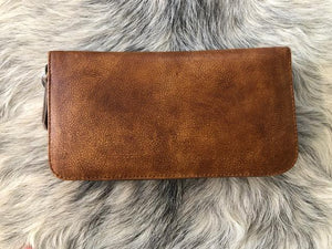Moo Leather Wallet Tan