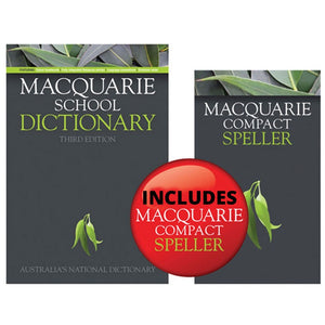 Macquarie School Dictionary 3rd Ed + Bonus Speller