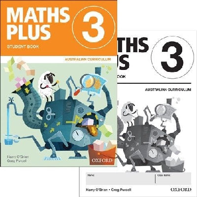 Maths Plus ACE  Stud & Assessment Bk 3 Aust Curr Ed