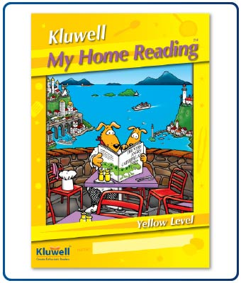 Kluwell My Home Reading Diary - Yellow Level (Junior)