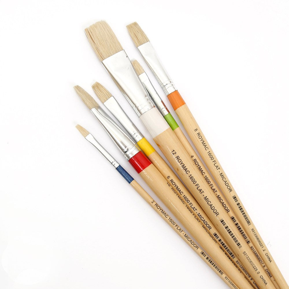 Paint Brush No 10 - Roymac Flat Bristle