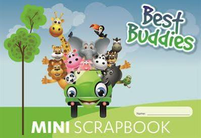Scrap Book - Mini Best Buddies - 64 Page